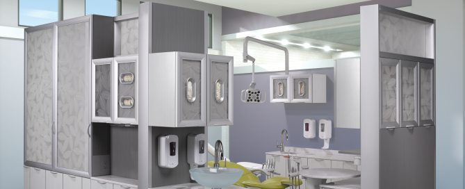 A-dec Dental Cabinets with Dental Operatory